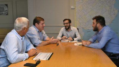 Simone y Montenegro planificaron nuevas obras para los marplatenses