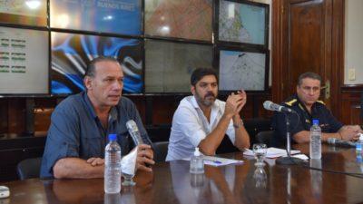 Bianco y Berni realizaron un balance del primer día de cuarentena y anunciaron nuevas medidas