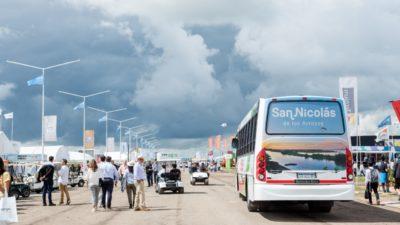 El viernes, los nicoleños podrán ingresar gratis a Expoagro