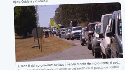 Alberto Fernández puso como mal ejemplo a quienes aprovecharon para hacer turismo en Monte Hermoso