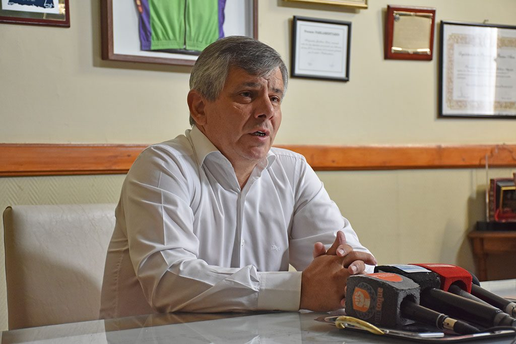 """El intendente de Chivilcoy, Guillermo Britos fue tajante: """"Las PASO no definen nada, no tienen sentido"""""""