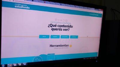 """Ya está disponible """"Continuemos Estudiando"""", la web para con material educativo para los chicos durante la cuarentena"""