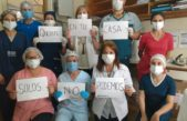 Todo el país aplaudió el gran trabajo y esfuerzo que vienen haciendo los médicos y trabajadores de la salud contra el Coronavirus
