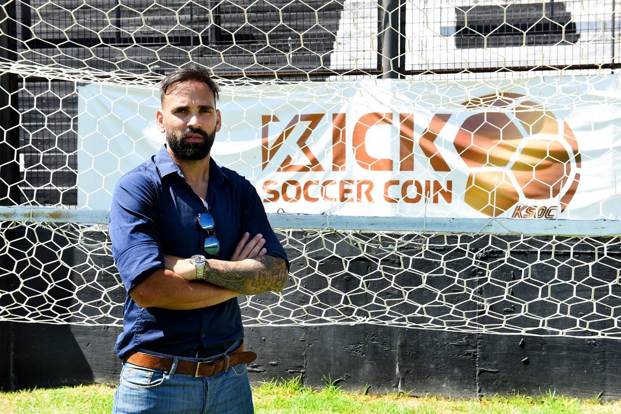 """Facundo Parra es el primer futbolista Argentino en recibir un pago en la criptomenda """"Kick Soccer Coin"""""""