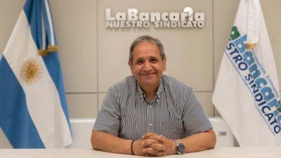 """Abren los bancos:  """"Si hay desmanes no vamos a seguir atendiendo"""", dijo Palazzo"""