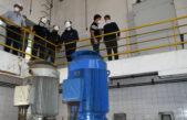 ABSA instaló la 5ta bomba en la Usina Bosque con la supervisión del presidente Germán Ciucci