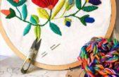 Bordado mexicano, tejido crochet y porcelana fría: Mercedes brinda talleres gratuitos y online