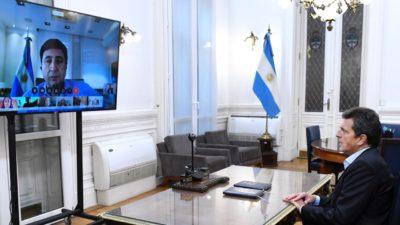 """Arroyo y Gines González García expusieron por videoconferencia en diputados: """"Las medidas tomadas están basadas en ganar tiempo"""""""