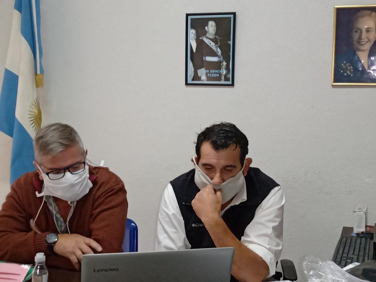 La Plata: Trabajadores Municipales despedidos en plena pandemia retornan a sus puestos en el call center