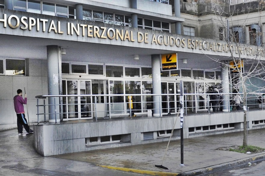 Una niña de 6 años internada en el Hospital de Niños de La Plata dio positivo a Coronavirus
