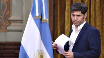 Kicillof firmó el decreto que prohíbe la suspensión del servicio eléctrico y de agua