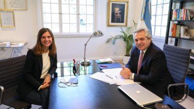 La ex ministra de desarrollo de Kicillof, Fernanda Raverta es la nueva titular del ANSES