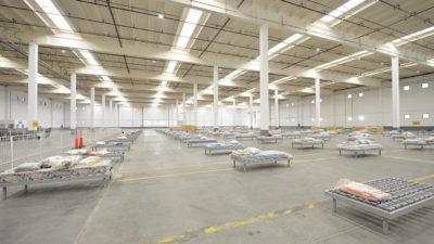 Tigre preparó un Centro de Aislamiento de Emergencias que posee 500 camas y puede ampliar a 1.000