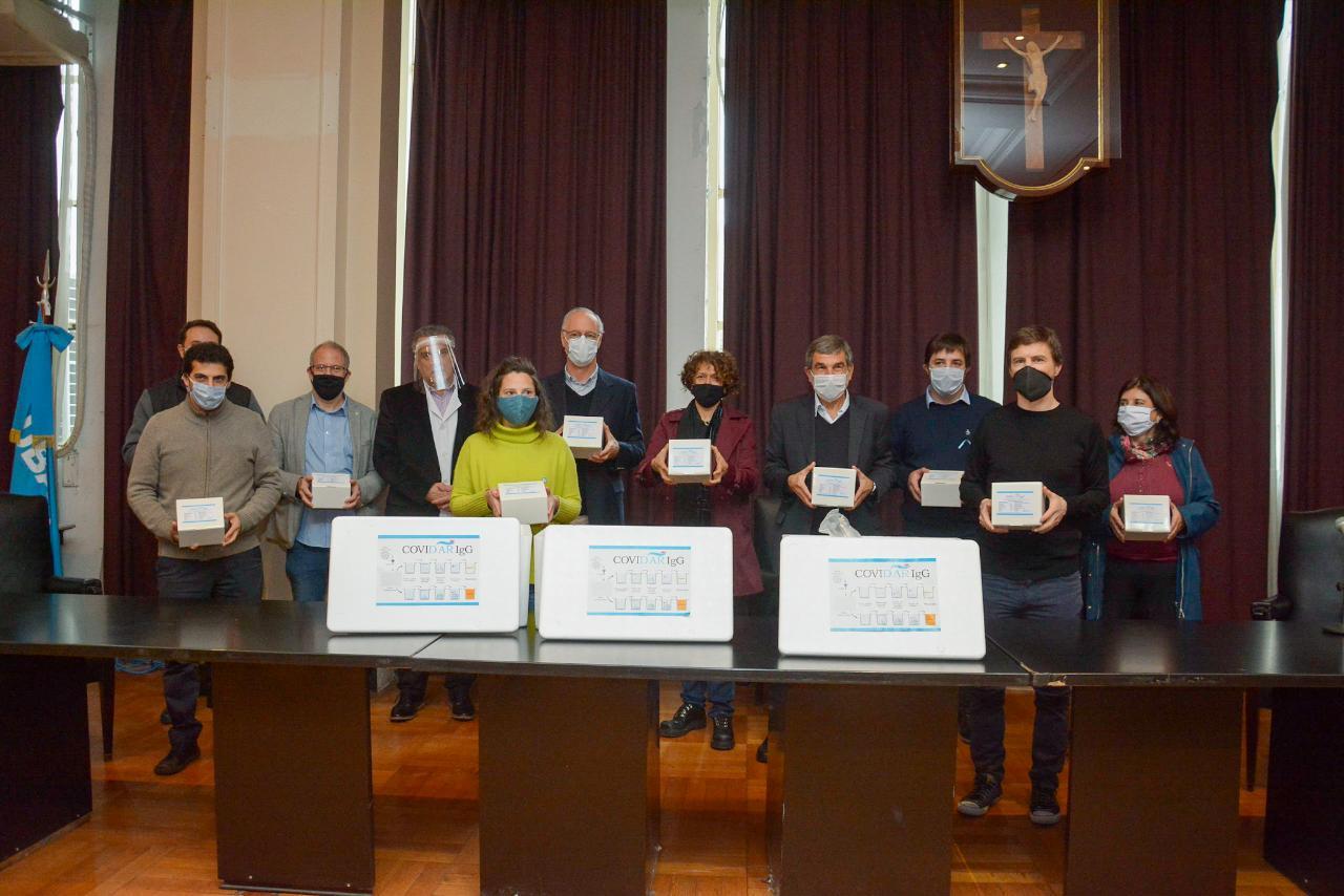 Llegaron 6 mil kits para el diagnóstico de inmunidad a la provincia