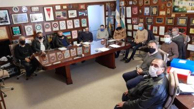 Los intendentes de Berisso y Ensenada se reunieron con el titular de Recursos Hídricos provincial buscando avanzar en obras para las comunas