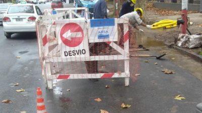 ABSA programó nuevos trabajos para la zona del Barrio de Tolosa en La Plata