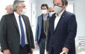 """Cascallares junto a Alberto y Kicillof en Brown: """"duplicamos la capacidad de respuesta del sistema de salud"""""""