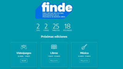 """La feria online de cultura independiente """"Finde"""" recibió más de 10 mil visitas"""