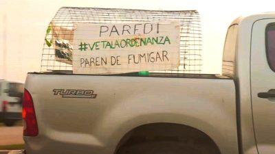 Los vecinos de Mar Chiquita piden la intervención de la Provincia por el conflicto con las fumigaciones