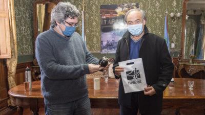 El ministro de Desarrollo Agrario, Javier Rodríguez visitó Tapalqué y junto al intendente Cocconi buscan potenciar las actividades alimenticias