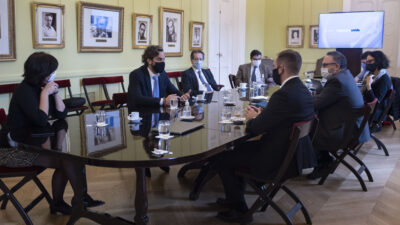 Cafiero, Guzmán y Kulfas confirmaron la tercer etapa del ATP y la prorroga hasta julio de los créditos a tasa cero