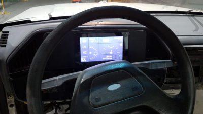 Tapalqué puso en marcha una Ford F100 eléctrica con baterías de litio