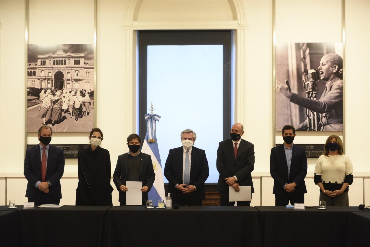 Buenos Aires, Santa Fé y Entre Ríos se suman al Plan Argentina Construye