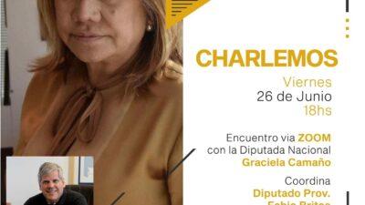 Convocada por Fabio Britos, la diputada Graciela Camaño dialogará con el interior bonaerense
