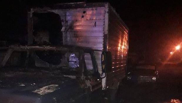 En Junín le prendieron fuego la camioneta al verdulero que contrajo coronavirus