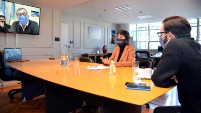 Simone y Mendoza firmaron un convenio para la construcción de dos puentes en Quilmes