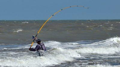 Monte Hermoso habilita la pesca sustentable y artesanal solo de costa