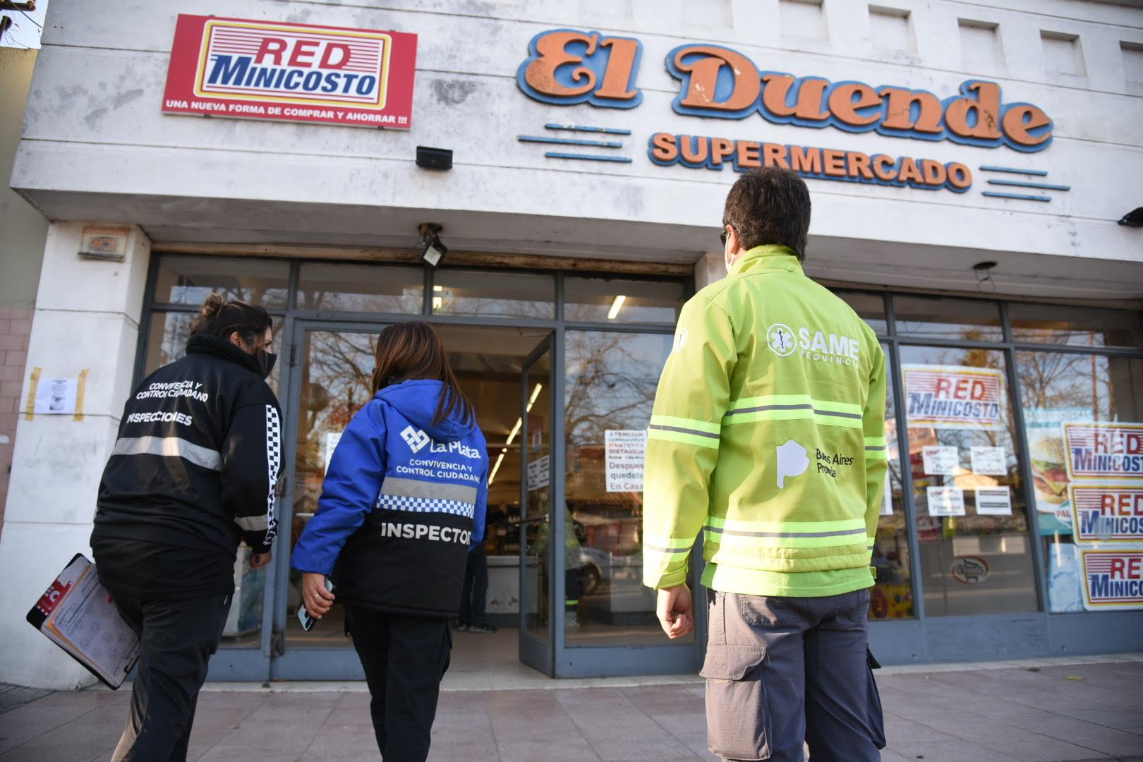 La Plata: Se confirmó un caso de Coronavirus en un supermercado de Tolosa