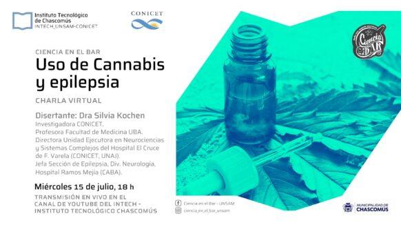 Experta del CONICET dará una charla online sobre el uso del aceite de cannabis para tratar la epilepsia
