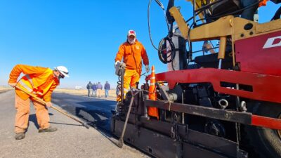 Avanzan las obras para la autopista en la ruta Nacional Nº7 entre Chacabuco y Junín