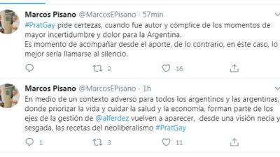 "El intendente de Bolívar le pidió a Prat Gay que mejor ""se llame a silencio"""