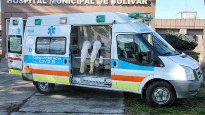 Mirá la nueva unidad de testeo móvil que presentaron en una ciudad bonaerense