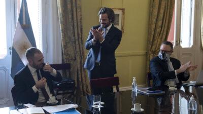 """Cafiero aplaudió a Guzmán por el acuerdo con los bonistas y expresó """"debemos desarrollar un modelo de empleo y oportunidades"""""""