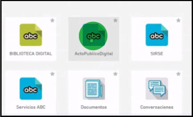 Confirmado: este viernes comenzarán los Actos Públicos Digitales a través de la plataforma ABC