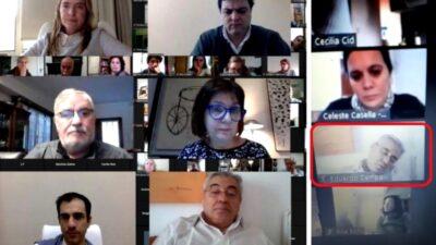 Insólito: el intendente de General Villegas se durmió durante un Zoom con Patricia Bullrich