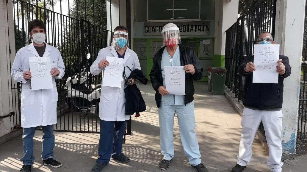 Profesionales de la Salud reclaman convocatoria a Paritarias