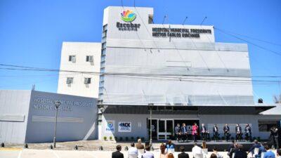 """""""La obra sanitaria más importante de la historia de Escobar"""": inauguraron el Hospital Kirchner de Maquinista Savio"""