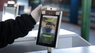 Cámaras termográficas: La nueva tecnología para tomar la temperatura en la estación ferroviaria de Burzaco