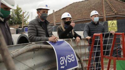 Galmarini, Katopodis y Gray inauguraron una red de agua potable en Esteban Echeverría para más de 230.000 vecinos