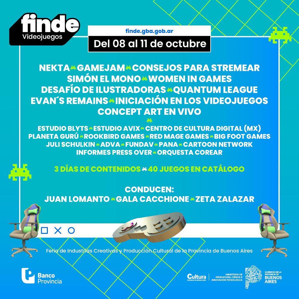 Costa y Cuattromo presentaron la feria virtual FINDE