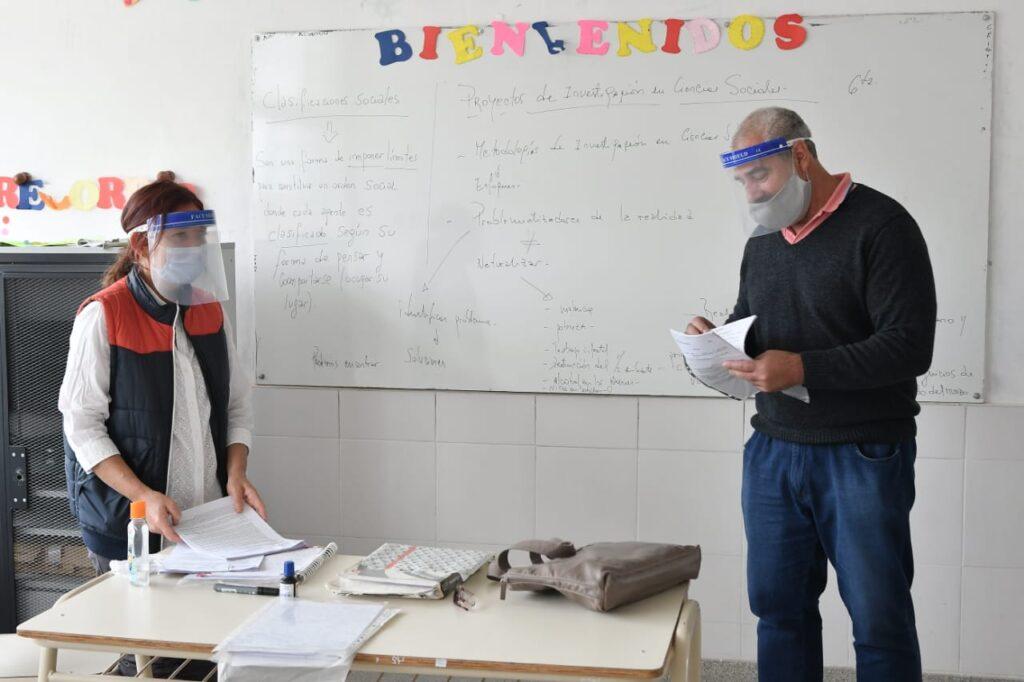 Después de 7 meses, volvieron las clases presenciales en tres municipios de la Provincia de Buenos Aires