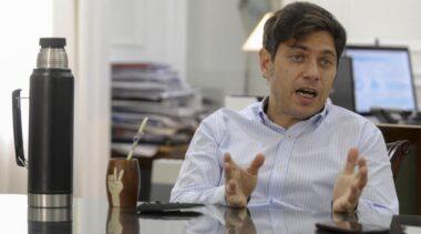 Kicillof habló después del desalojo en Guernica y aclaró el tema del subsidio de 300 mil pesos