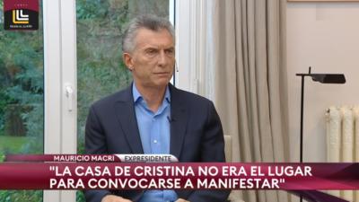 """Macri ortodoxo: Pidió """"estén en la calle defendiendo a los jueces"""" y fustigó a los filo-peronistas de su gobierno, Frigerio y Monzó"""