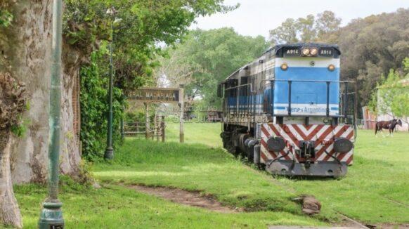 Una locomotora hizo una prueba de vías entre General Guido y Pinamar
