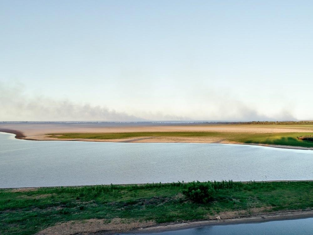 """""""Los incendios nos hacen un daño enorme"""", dijo el intendente de San Nicolás"""