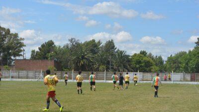 Referentes del Cagliari de Italia hicieron una prueba de jugadores en Daireaux